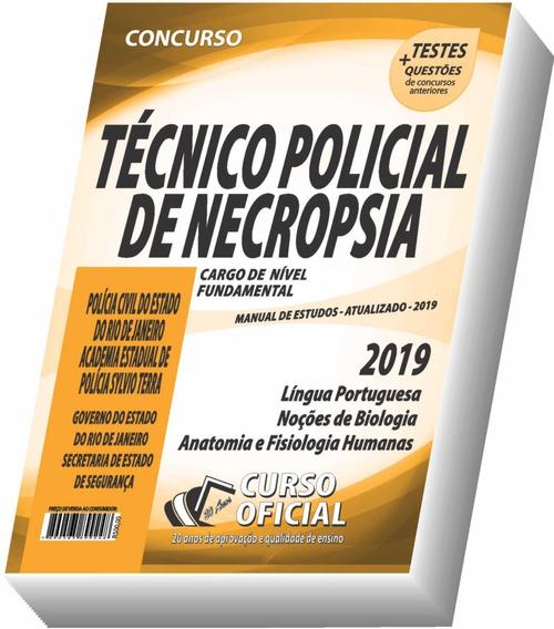 Apostila Pc-rj - Técnico Policial Necropsia - Frete Grátis !