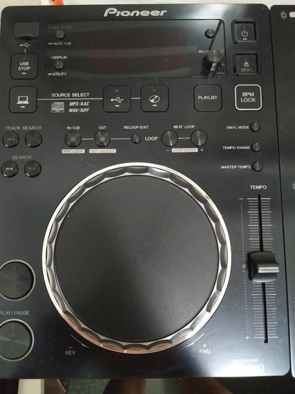2 Cdj 350 + Mixer Djm 350 + Fone Stanton - Kit Completo 350