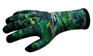 Guantes De Buceo 3mm Green Fusion Talla 2(small) - Epsealon