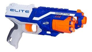 Pistola Lanza Dardos Nerf Nstrike Disruptor 21 M Envio Full