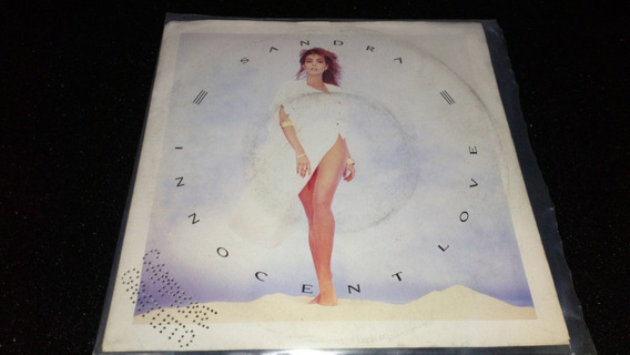 Sandra Innocent Love Vinilo Simple Italiano Muy Bueno