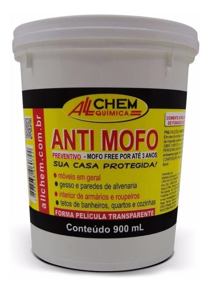 Anti Mofo Preventivo - Allchem 900ml - Gesso Parede Moveis