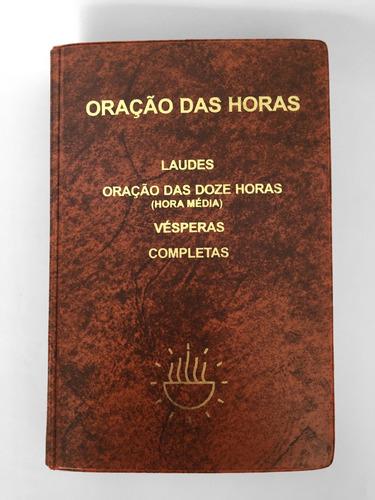 Livro Oração Das Horas Breviário Liturgia Igreja Encadernado