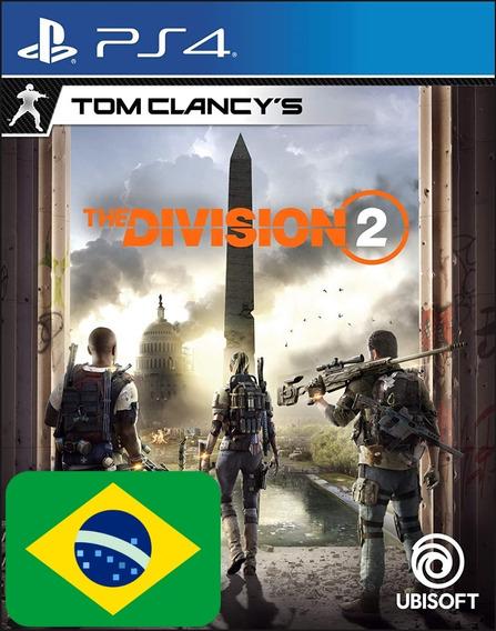 Tom Clancys The Division 2 Ps4 1 Codigo Imediato