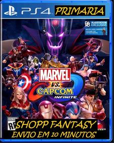 Marvel Vs Capcom Infiniti Ps4 Midia Digital 1º Português