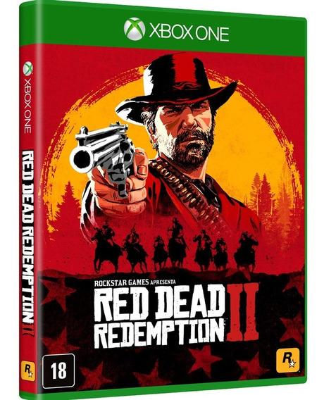 Red Dead Redemption 2 Xbox One - Jogo Mídia Física Lacrado
