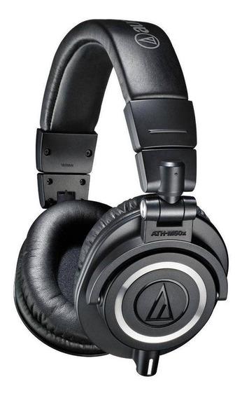 Fone De Ouvido Audio-technica Ath-m50x Profissional Serie M