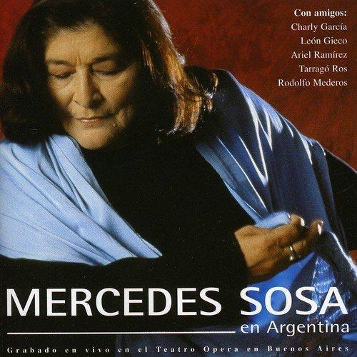 Cd : Mercedes Sosa - En Argentina (cd)
