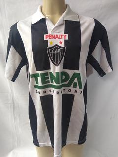 Camisa De Futebol Do Atletico Mineiro 1997 Penalty Tenda #8