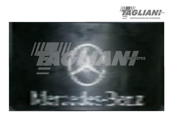 Barrero Camion Mercedes Benz 59 X 29 Logo Y Letras Blancas