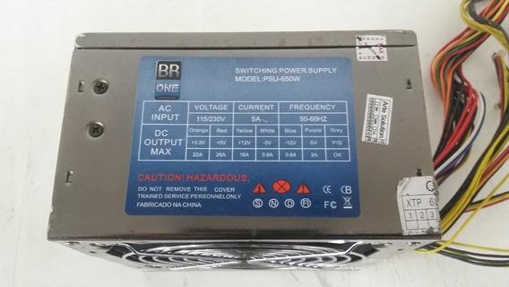 Fonte Real Br One Psu-650w - Usada (ft 102)