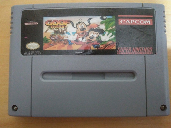 Goof Troop Repro Placa Original Português Super Nintendo