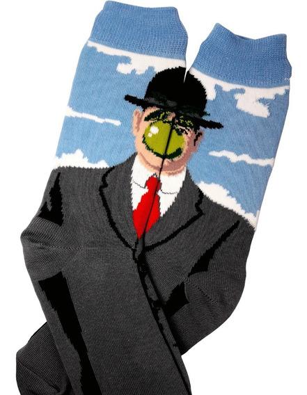 Medias Magritte René El Hijo Del Hombre