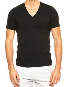 Camiseta Cuello V 4 Pz Para Caballero Calvin Klein
