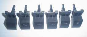 Tecla Diversas Para Tape Deck Micro Systens Gradiente