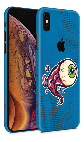 Skin Blue Eye Para Telefonos Apple iPhone