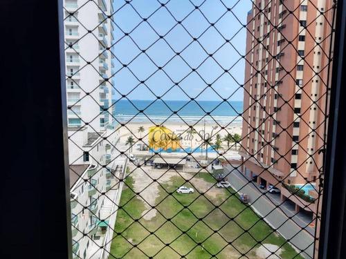 Imagem 1 de 15 de Apartamento Com 2 Dormitórios À Venda, 75 M² Por R$ 320.000,00 - Vila Guilhermina - Praia Grande/sp - Ap15066