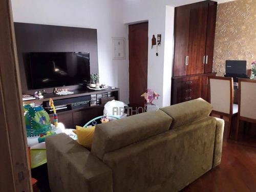 Imagem 1 de 14 de Apartamento Com 2 Dormitórios À Venda, 72 M² Por R$ 295.000,00 - Jardim Stella - Santo André/sp - Ap1512