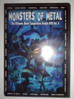 Monster Of Metal Vol.6 (2 Dvd)