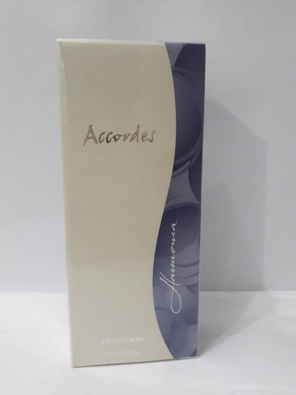 Accordes Harmonia Des. Colônia, 80ml