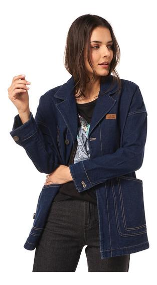 Chaquetas Mujer Haka Honu James Jeans Azul V20