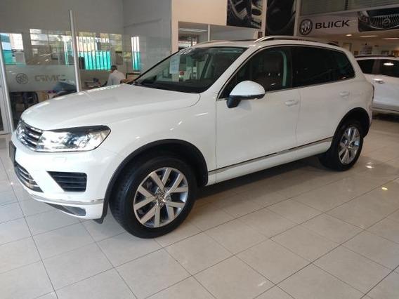 Volkswagen Touareg V6 Td Triptronic Gps 2016 Blanco