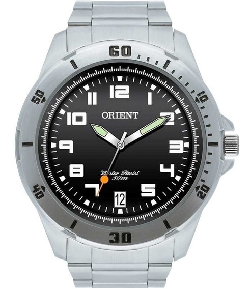 Relógio Orient Masculino Prata Mbss1155a P2sx Calendário