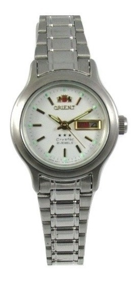 Relógio Orient Automático Feminino Fnq05006w9 Semi Novo
