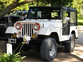 Jeep Ika 4x4 Falcon 221 Sprint G.n.c Motor Nuevo Titular Vtv
