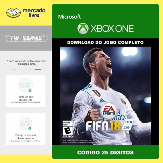 Fifa 18 2018 Original Código 25 Dígitos Original Xbox One