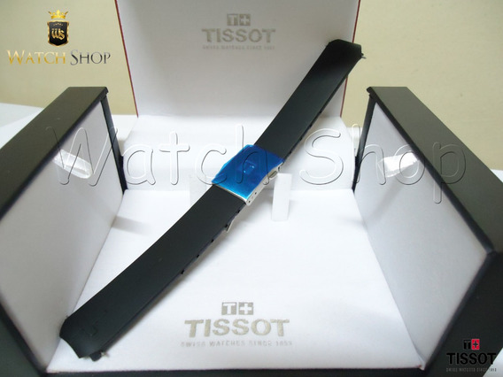 Pulseira De Borracha Tissot T Touch T013420a Preto Original