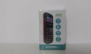 Celular Dtc Myphone M1 Dual Sim Tela 1.3 Fm Azul