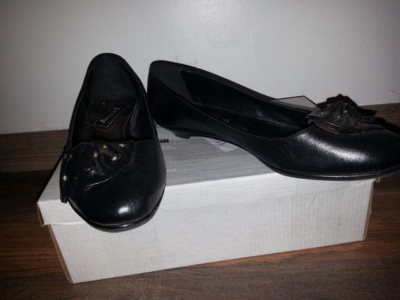 Zapatos Chatitas Mujer T.37 Negros (leer Descripción)