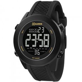 Relógio X-games Masculino Xmnpd001 Pxpx Aço Preto Analogico