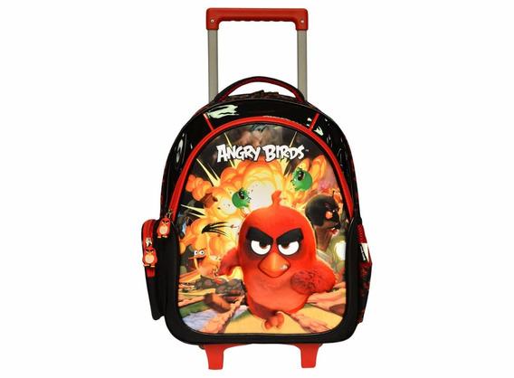 Mochila Infantil Escolar Infantil 3d Angry Bard