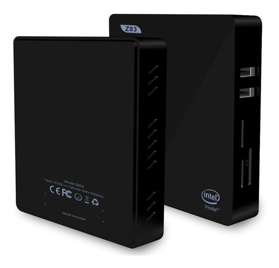 Z83 Mini Pc Intel Z8350 Até 1.92 Ghz Windows 10 32gb 2ram