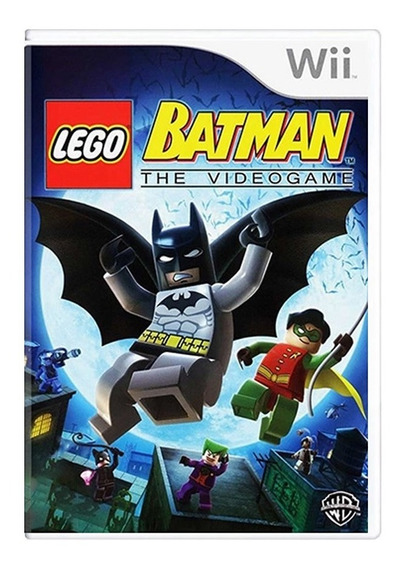 Lego Batman The Video Game - Nintendo Wii - Usado