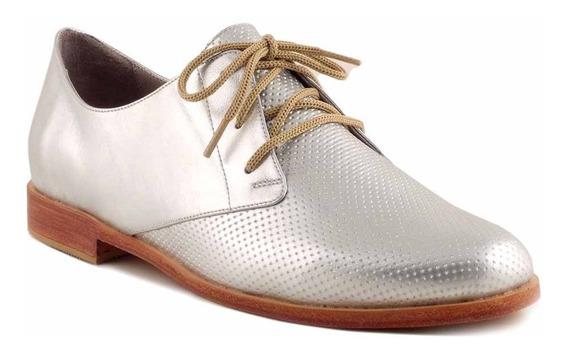 Zapato Mujer Cuero Briganti Abotinado Suela - Mccha2963 Pd
