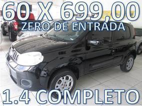 Fiat Uno 1.4 Attractive Zero De Entrada + 60 X 699,00 Fixas