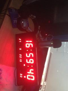 Reloj Digital Led Estudio (consultar Stock Disponible)