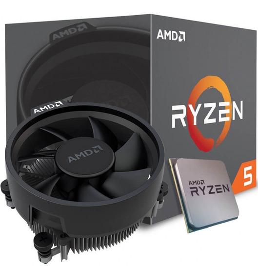 Processador Amd Ryzen 5 2600x 3.6 Ghz 19 Mb Am4 Novo Nfe