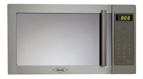 Horno Microondas Haceb 1.1 Lts 120v - As Hm-1.1 Me Gr-inoxid