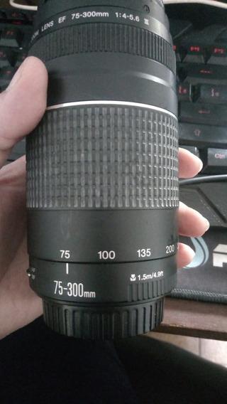 Lentes Para Canon (18-55mm/75-300mm/28-90mm)
