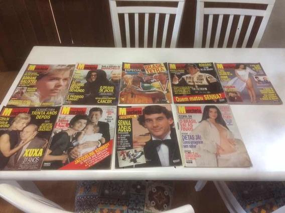 Lote De Revistas Manchete - Veja Descricao