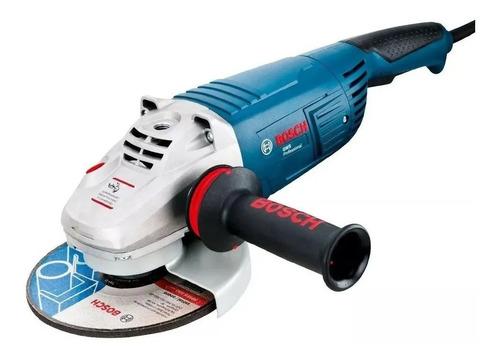 Amoladora angular Bosch Professional GWS 26-180  de 50Hz/60Hz azul 220V