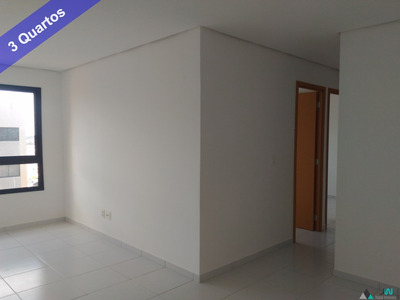Venda De Apartamento Em Lagoa Nova, Com 3 Quartos Sendo Um Suíte No Green Life Mor Gouveia - Ap00176 - 33674923