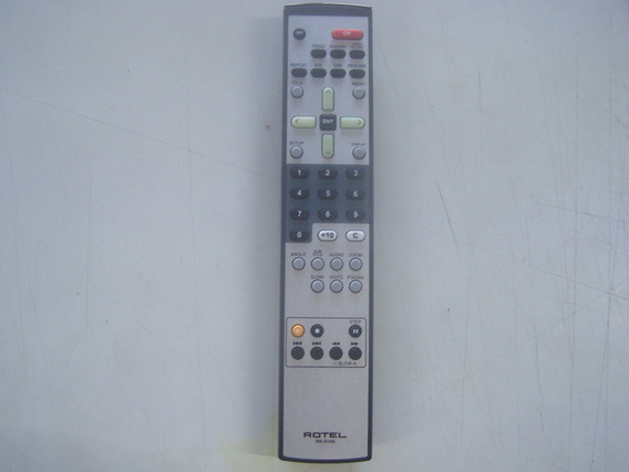 Controle Remoto Rotel - Rr-dv98 - Receiver Home Theater