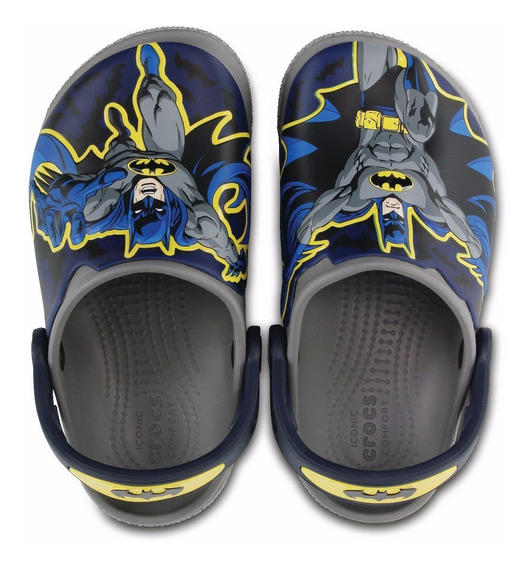 X Crocs Funlad Batman Kids- Navy Original Revenda Autorizada
