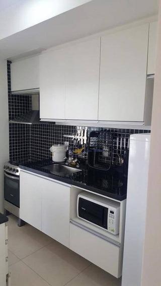 Flat Com 1 Dormitório Para Alugar, 47 M² Por R$ 3.100,00 - Cidade Monções - São Paulo/sp - Fl0004