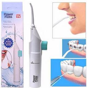 Irrigador Oral Power Floss Limpeza Profunda Dente Aparelho